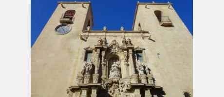 Santa María Alc fachad