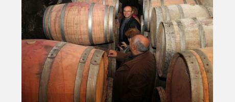 Vino y aceite Vilafames - barriles