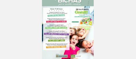 Cartel Talleres Bichos y Bichas