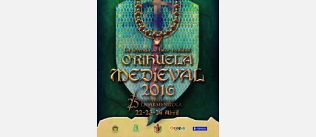 Cartel Mercado Medieval Orihuela 2016