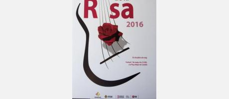 Cartel Fiesta de la Rosa 2016