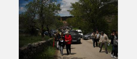 Romería a la ermita de la Virgen de Gracia en Cinctorres