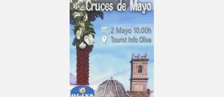 Visita Guiada Cruces de Mayo Oliva