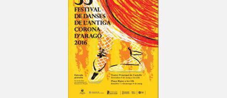 """Festival de """"Danses Antiga Corona D'Aragó"""" 2016"""
