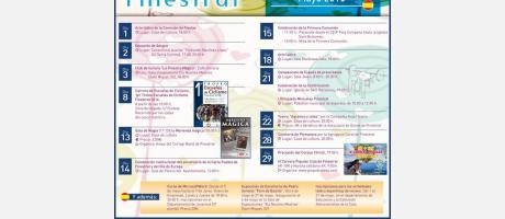 Agenda Cultural Finestrat Mayo 2016