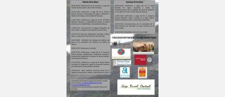 Cartel 1ª Jornadas de Historia de Almoradí con programación