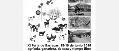 Cartel Feria Agrícola de Barracas