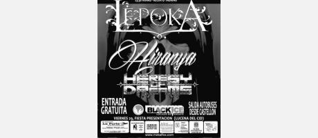 Cartel Metal Fox Festival en Lucena