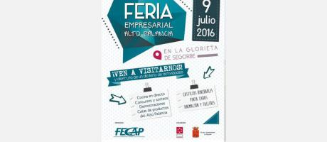 Cartel Feria empresarial