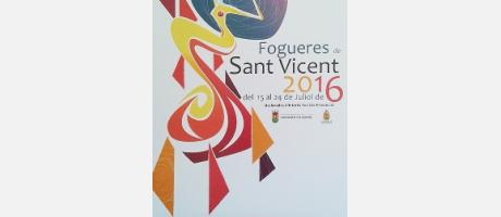 Cartel Hogueras San Vicente 2016