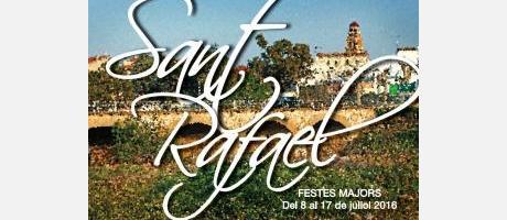 Cartel Fiestas Matores enSan Rafael del Rio