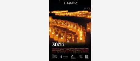 Cartel noche de las velas