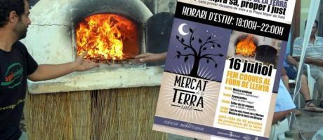 Mercat de la Terra en Xaló. Mercado nocturno