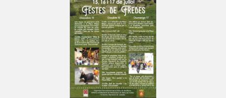 Cartel Fiestas Fredes