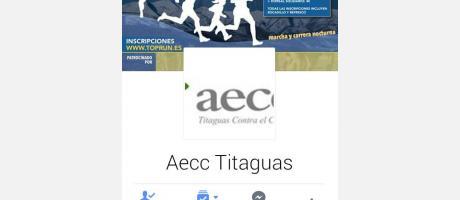 Cartel explicativo-  Carrera nocturna solidaria contra el cancer  Aecc Titagua t