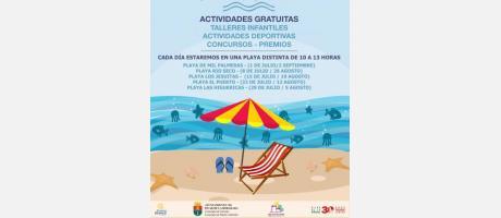 Vive Pilar de la Horadada y mantén la playa cuidadada