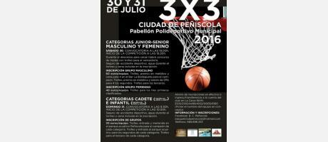 Torneo 3x3 Ciudad de Peñíscola