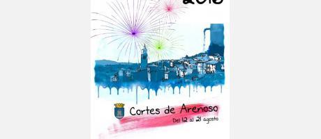 Cartel fiestas Cortes Arenoso