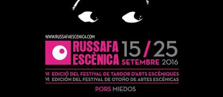 Cartel oficial del festival en fondo negro y unos ojos