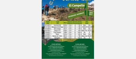Senderismo desde El Campello 2016 - 2017
