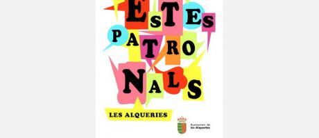 Cartel Fiestas Patronales Alqueríes