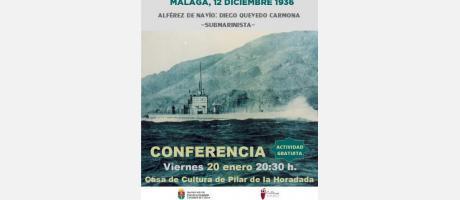 """Conferencia: Operación """"Úrsula"""" El hundimiento del submarino español """"C3"""""""