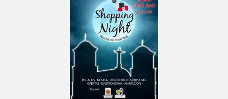 Cartel Almoradí Shopping Night