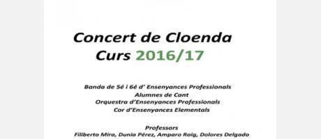Concierto de clausura Auditorio Municipal de Cullera