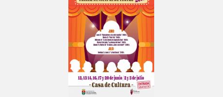 """Muestra del Taller Municipal de Teatro: """"El cianuro, ¿Sólo o con leche?"""""""