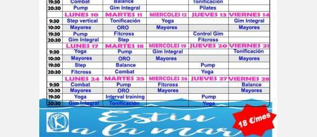 Actividad física Sagunto 2017