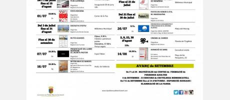Agenda julio-agosto 2017 EPNDB