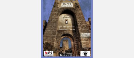 Cartel visitas guiadas gratis