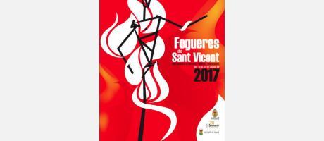 Cartel hogueras San Vicente del Raspeig 2017