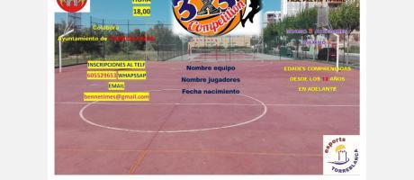 Competición baloncesto 3x3
