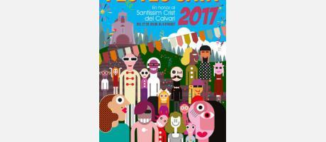 Portada del libro de Fiestas 2017