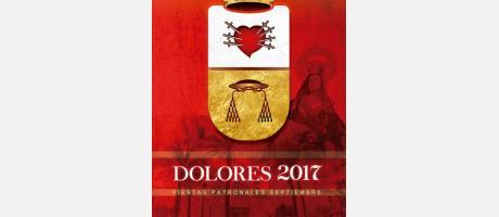 Cartel Fiestas Patronales de Dolores 2017