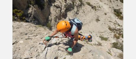 Escalada con Trail Natura