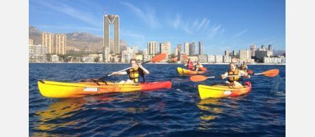 Marco Polo Expediciones en Kayak