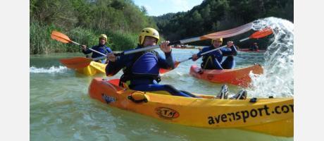 Avensport Actividades en el río Cabriel