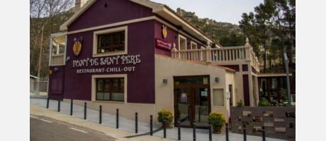 Exterior Restaurante Font de Sant Pere