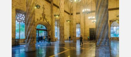 Interior lonja de Valencia