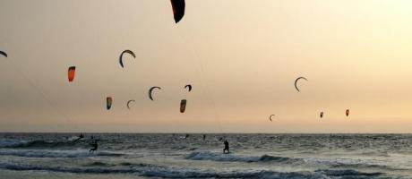 Kitesurf en la costa de la Comunitat