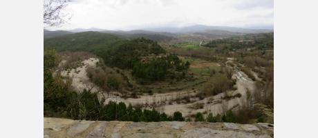 Meandros del río Bergantes