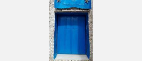 Puerta principal Casa de las Conchas