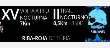 XV Volta a Peu Nocturna de Riba-roja de Túria