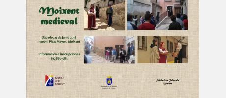 Visita guiada y teatralizada Moixent medieval