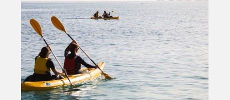 Kayak en la escuela del Aloha