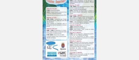 Actividades y Semana Cultural 2018 en Quesa