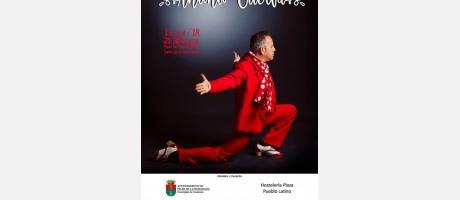 Actuación de la Academia de Baile Flamenco 'Antonio Cuerva'