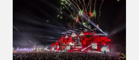 Vista general del festival